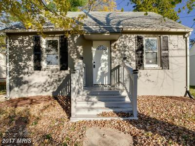 Baltimore Single Family Home For Sale: 3 Vincent Avenue