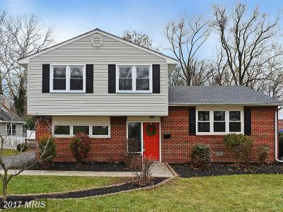 Baltimore Single Family Home For Sale: 932 Beaverbank Circle