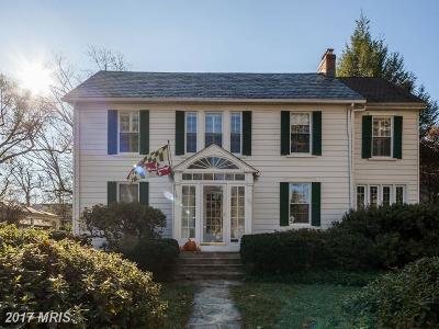 Baltimore Single Family Home For Sale: 703 Chumleigh Road