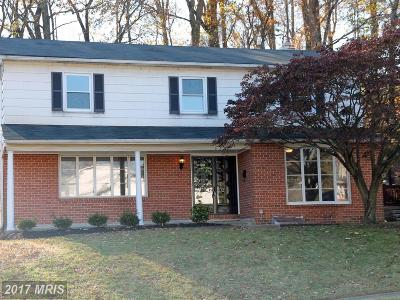 Baltimore Single Family Home For Sale: 8253 Streamwood Drive