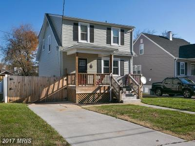 Baltimore Single Family Home For Sale: 2914 Onyx Road