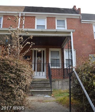 Townhouse For Sale: 7005 Baltimore Street E