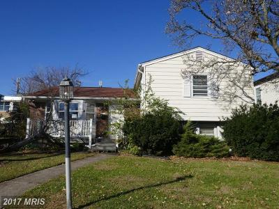 Baltimore Single Family Home For Sale: 2712 Woodcourt Road