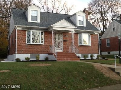 Baltimore Single Family Home For Sale: 3497 Hillsmere Road