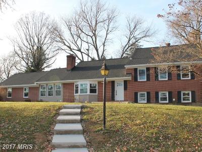 Baltimore Single Family Home For Sale: 4 Ruxton Ridge Gar
