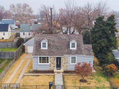 Baltimore Single Family Home For Sale: 8224 Watersedge Road