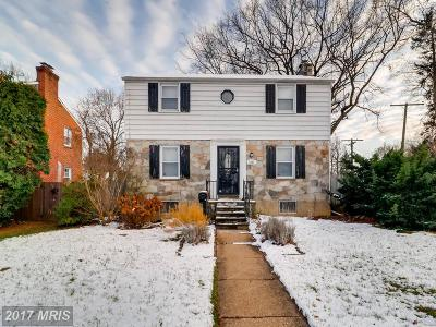 Baltimore Single Family Home For Sale: 4225 Colonial Road