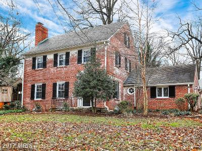 Baltimore Single Family Home For Sale: 801 Hillen Road