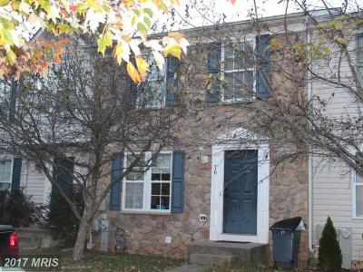 Owings Mills MD Townhouse For Sale: $189,000