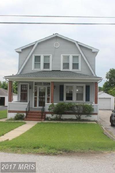 Baltimore Single Family Home For Sale: 1211 White Avenue