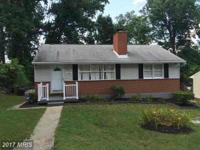 Baltimore Single Family Home For Sale: 3668 Clifmar Road