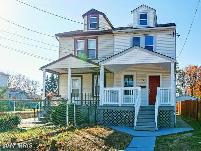 Back River Highlands, Back River Neck, Eastern Terrace, Edgewater, Essex, Holly Neck, Hopewell Pointe, Hyde Park, Macelee, Marlyn Terrace, Middleborough, Middlesex, Riverwood Park, Rockaway Beach, Waterview Duplex For Sale: 341 Oberle Avenue
