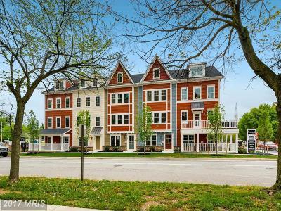 Towson Townhouse For Sale: 208 E. Pennsylvania Avenue E