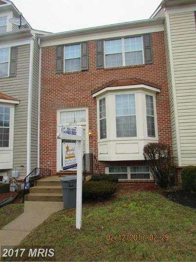 Randallstown Townhouse For Sale: 4203 Huntshire Road