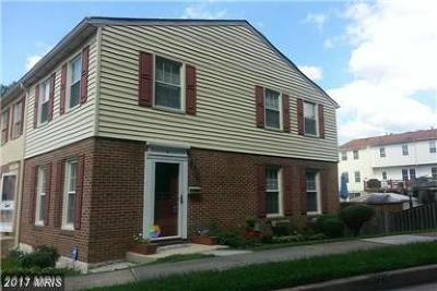 Baltimore Townhouse For Sale: 2 Birsay Court #3J