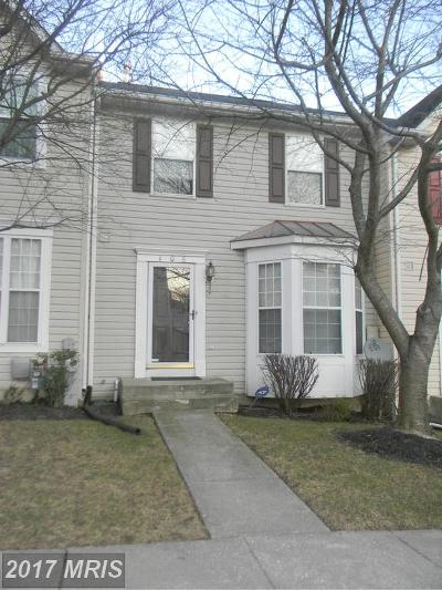 Owings Mills Townhouse For Sale: 106 Royalty Circle