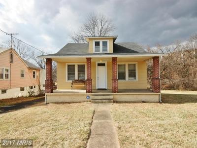 Halethorpe Single Family Home For Sale: 5614 Southwestern Boulevard