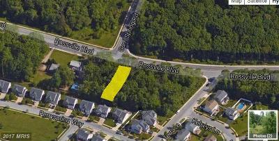 Rosedale Residential Lots & Land For Sale: Rossville Boulevard