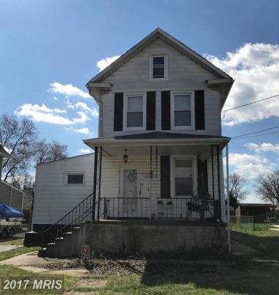 Halethorpe Single Family Home For Sale: 1712 Hall Avenue