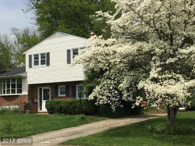 Lutherville Timonium Single Family Home For Sale: 910 Jamieson Road