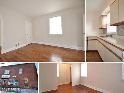Halethorpe Single Family Home For Sale: 5306 East Drive