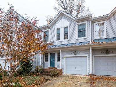 Ellicott City Townhouse For Sale: 826 Charles James Circle