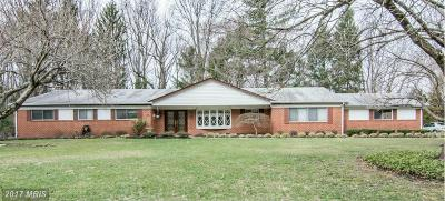 Pikesville Single Family Home For Sale: 110 Swanhill Court