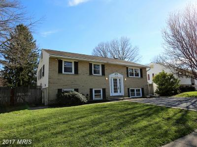 Reisterstown Single Family Home For Sale: 201 Cherry Hill Road E