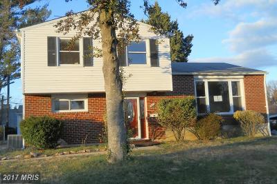 Randallstown Single Family Home For Sale: 9033 Samoset Road