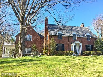 Towson Single Family Home For Sale: 7830 Ellenham Road