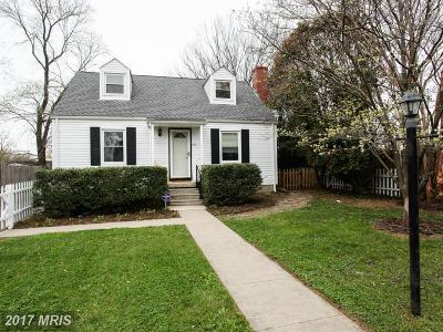 Catonsville Single Family Home For Sale: 4 Bishops Lane