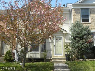 Owings Mills Townhouse For Sale: 404 Woodhill Drive