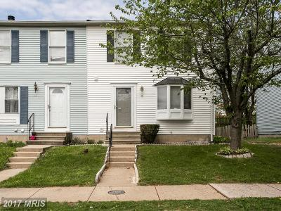Reisterstown Townhouse For Sale: 16 Craftsman Court