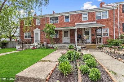 Catonsville Townhouse For Sale: 703 Eastshire Drive