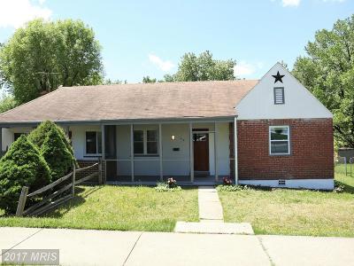 Baltimore Duplex For Sale: 614 Dale Avenue