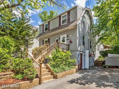 Baltimore Single Family Home For Sale: 4421 Poplar Avenue