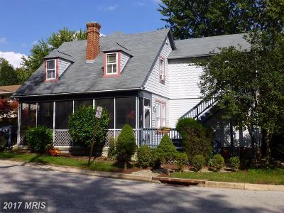 Catonsville Single Family Home For Sale: 133 Prospect Avenue S