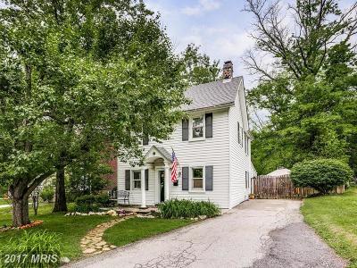 Baltimore Single Family Home For Sale: 9625 Oakdale Avenue
