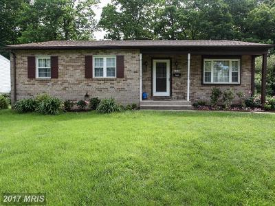 Catonsville Single Family Home For Sale: 1417 Pleasant Valley Drive