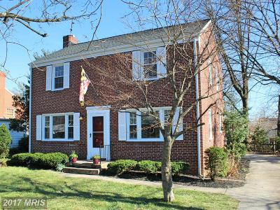 Luther Village, Lutherville, Lutherville Heights, Mays Chapel, Mays Chapel North, Meadowland, Meadowvale, Pot Spring Single Family Home For Sale: 31 Seminary Avenue E