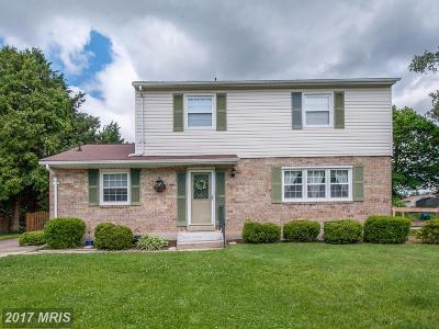 Reisterstown Single Family Home For Sale: 215 Bentley Hill Drive