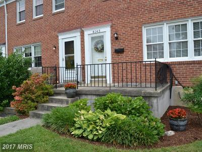 Baltimore Townhouse For Sale: 13 Kathsway Court