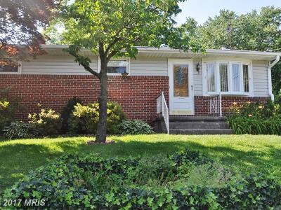 Baltimore Single Family Home For Sale: 9900 Finney Drive