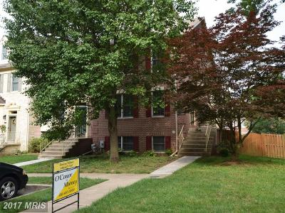 Cockeysville Townhouse For Sale: 952 Walnut Wood Road