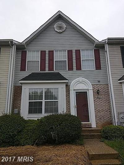 Randallstown Townhouse For Sale: 3562 Corn Stream Road