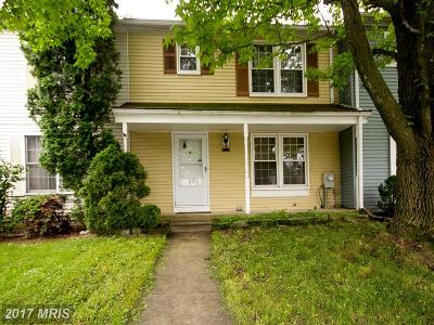 Reisterstown Townhouse For Sale: 629 Saint Georges Station Road