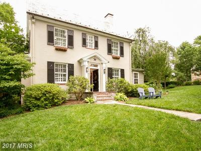 Baltimore Single Family Home For Sale: 609 Stoneleigh Road