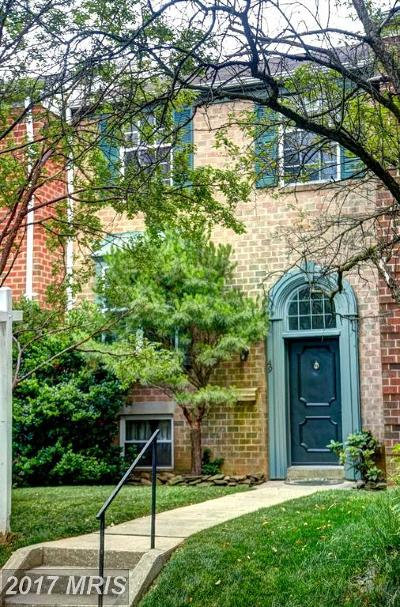 Hunt Valley, Lutherville Timonium Townhouse For Sale: 49 Blondell Court