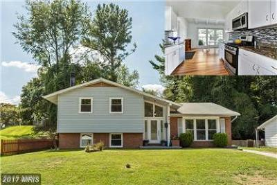 Baltimore Single Family Home For Sale: 8213 Streamwood Drive