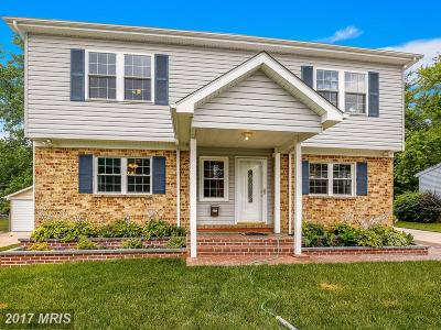Catonsville Single Family Home For Sale: 1321 Middleford Road